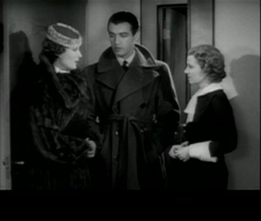 Binnie Barnes, Robert Taylor and Janet Gaynor in Small Town Girl