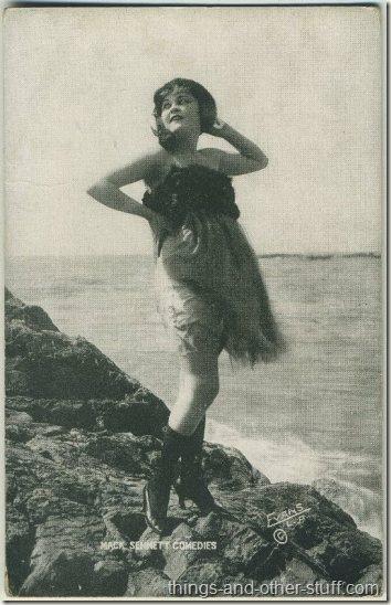 Phyllis Haver 1920s Mack Sennett Comedies Arcade Card
