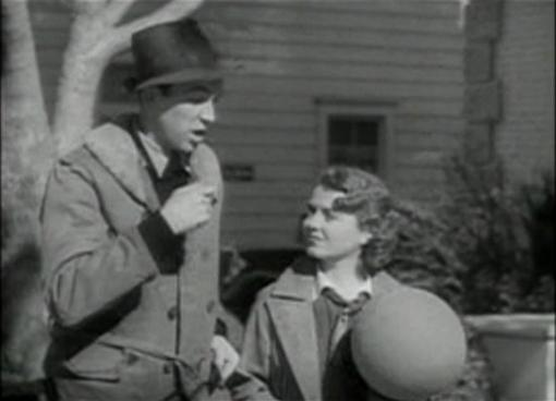 James Stewart and Janet Gaynor in Small Town Girl