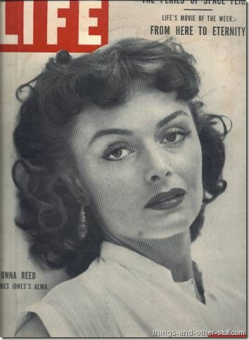 Donna Reed on cover of Life Magazine August 31 1953