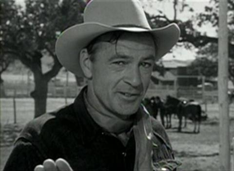 Gary Cooper in It's a Big Country