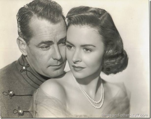 Donna Reed and Alan Ladd in Beyond Glory which does not air on TCM this month