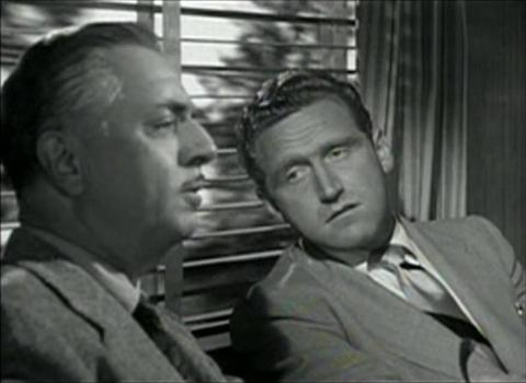 William Powell and James Whitmore in It's a Big Country