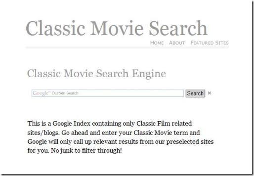 ClassicMovieSearch.com