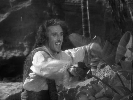 Basil Rathbone in Captain Blood