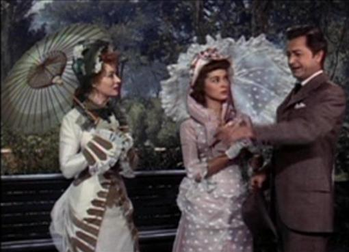 Greer Garson, Janet Leigh and Robert Young in That Forsyte Woman