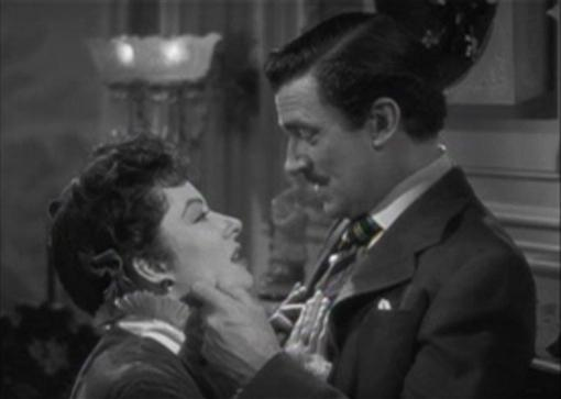 Greer Garson and Walter Pidgeon in Mrs Parkington