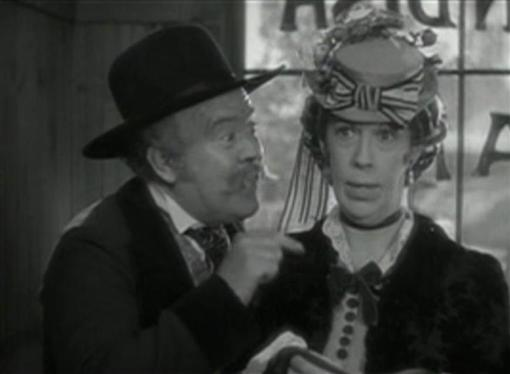 Guy Kibbee and Edna May Oliver in The Conquerors