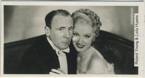 Roland Young and Leila Hyams