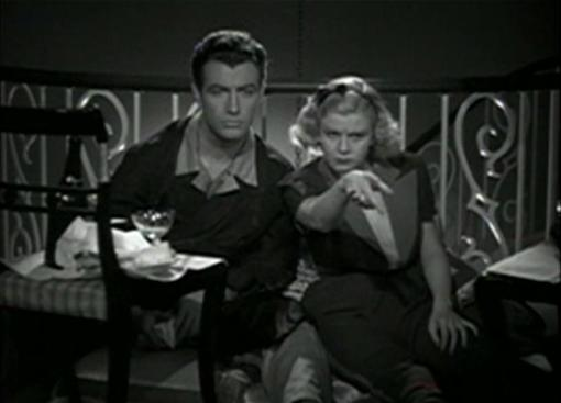 Robert Taylor and Jean Harlow in Personal Property