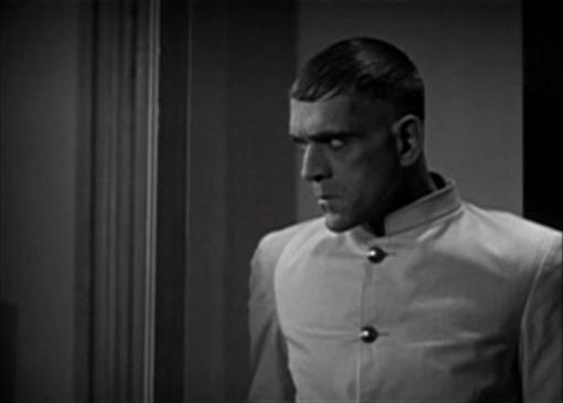 Boris Karloff in The Criminal Code