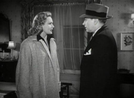 Virginia Mayo and George Raft in Red Light