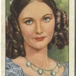 Elizabeth Allan 1939 Gallaher Tobacco Card
