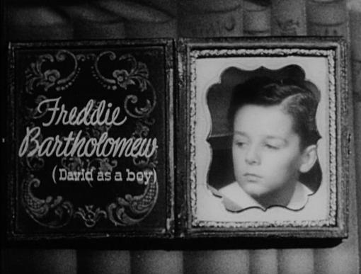 Freddie Bartholomew as David Copperfield