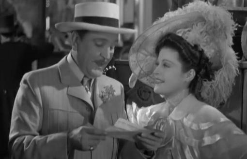 Frank Morgan and Suzanne Kaaren in The Great Ziegfeld