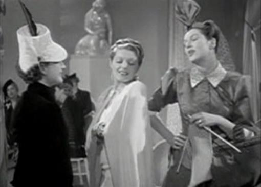 Norma Shearer Suzanne Kaaren Rosalind Russell in The Women