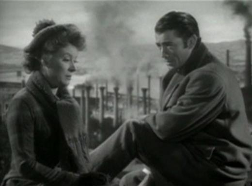Greer Garson and Gregory Peck in The Valley of Decision