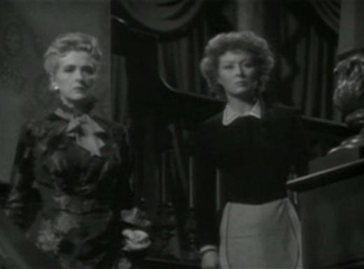 Gladys Cooper and Greer Garson in The Valley of Decision