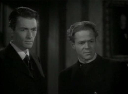 Gregory Peck and Dan Duryea in The Valley of Decision