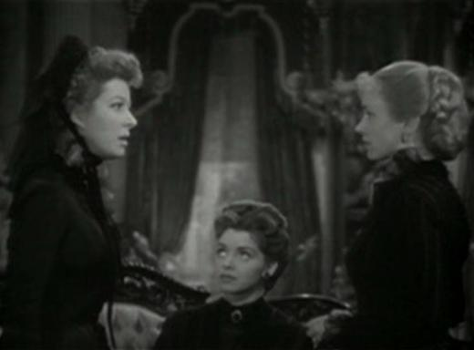 Greer Garson, Marsha Hunt, Jessica Tandy in The Valley of Decision