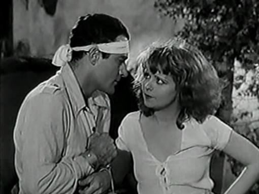 Gilbert Roland and Clara Bow in Call her Savage