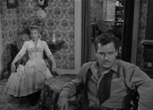 Ida Lupino and Gig Young Lust for Gold