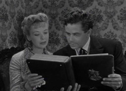 Ida Lupino and Glenn Ford Lust for Gold