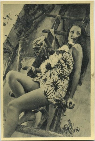 Dorothy Lamour The Hurricane card
