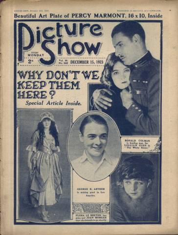 Picture Show Magazine December 15 1923