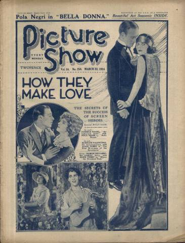 Picture Show Magazine March 22 1924
