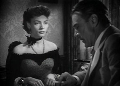 Lauren Bacall and Gary Cooper
