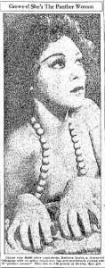 Panther Woman Kathleen Burke