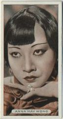 Anna May Wong 1934 Ardath Tobacco Card