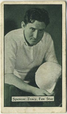 Spencer Tracy 1933 Turf Cigarettes Trading Card