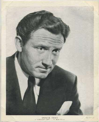 Spencer Tracy 1936 R95 Linen Textured Premium Photo