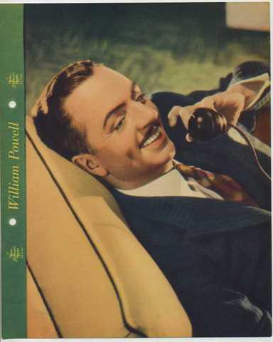 William Powell 1937 Dixie Premium