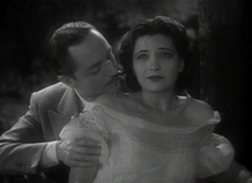 William Powell and Kay Francis in One Way Passage
