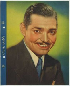Clark Gable 1936 Dixie Premium