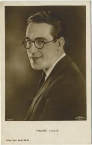 Harold Lloyd Ross Verlag Postcard