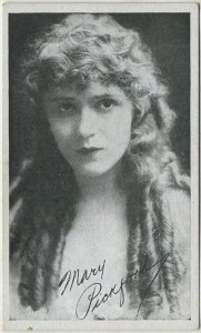 Mary Pickford 1917 Kromo Gravure Trading Card
