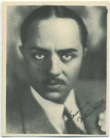 William Powell Kashin Motion Picture Stars Photo Card