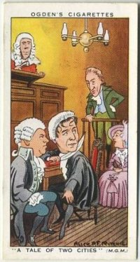 Ronald Colman in A Tale of Two Cities 1936 Tobacco Card