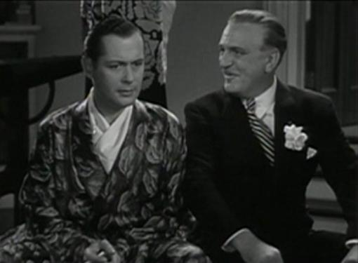 Robert Montgomery and Frank Morgan