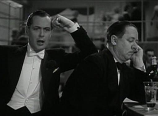 Robert Montgomery and Robert Benchley