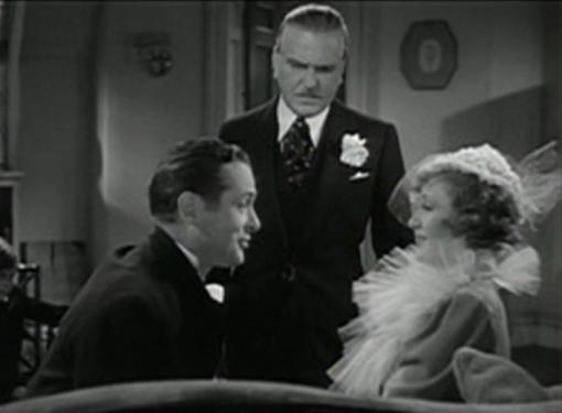 Robert Montgomery and Billie Burke
