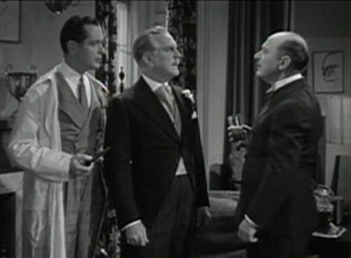 Robert Montgomery Frank Morgan and Eric Blore