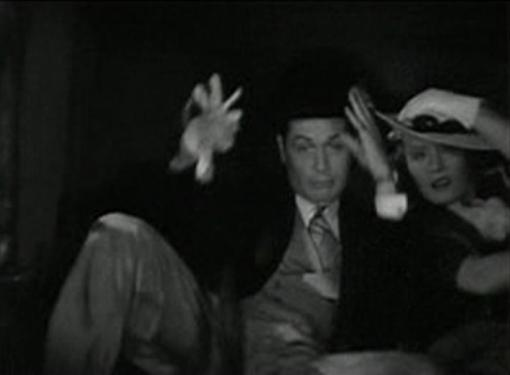 Robert Montgomery and Madge Evans