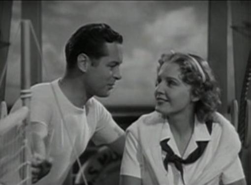 Robert Montgomery and Madge Evans