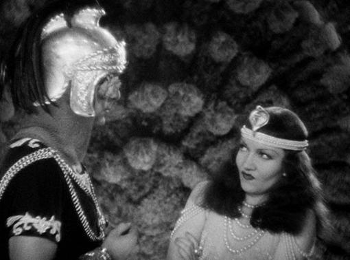 Henry Wilcoxon and Claudette Colbert