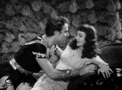 Henry Wilcoxon and Claudette Colbert